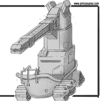 Tanks for Nothing: Concept Art